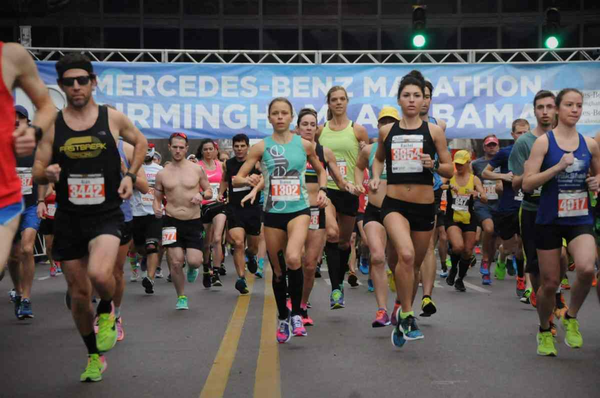 Your guide to the Mercedes-Benz Marathon Weekend and its 26.2 miles of fun