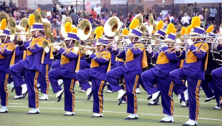 Birmingham, Alabama, Miles College, marching band, THE YARD