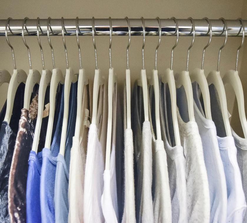 Birmingham, Alabama, Organize Bham, Alex Lupo Sasser, closet, coat hangers