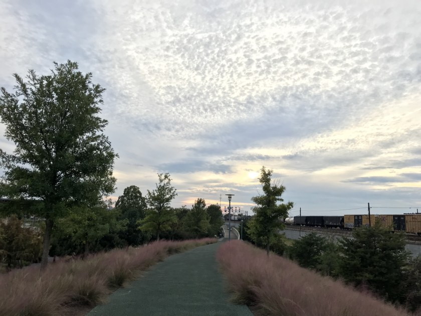 Birmingham, Alabama, Red Rock Trail System, Freshwater Land Trust, Railroad Park, muhly grass