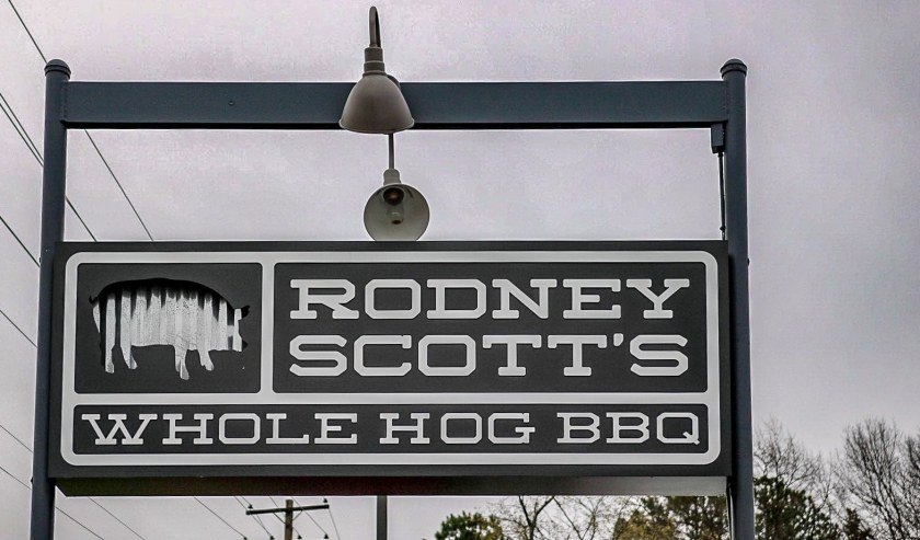 Birmingham, Alabama, Avondale, Rodney Scott's BBQ, sign