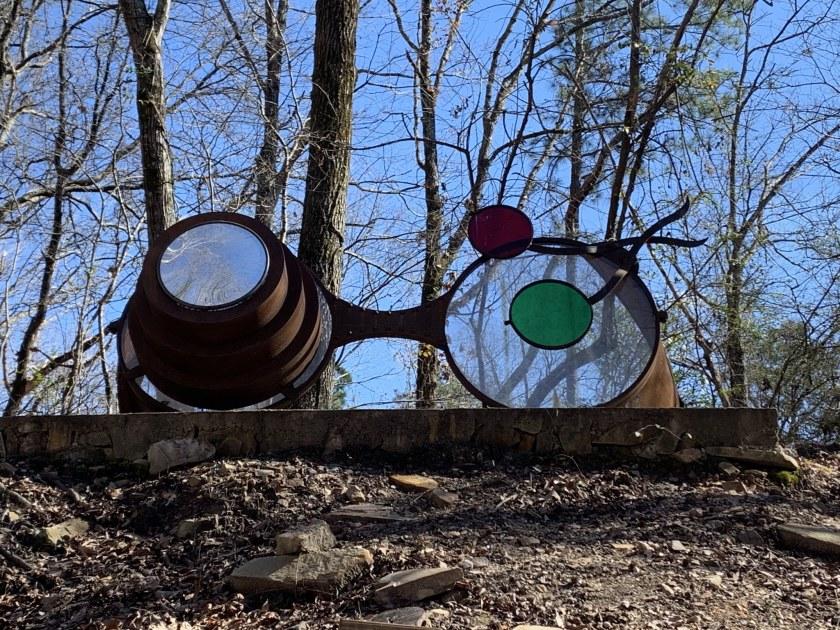 Birmingham, Alabama, Schaeffer Spectacles, Red Mountain Park, public art