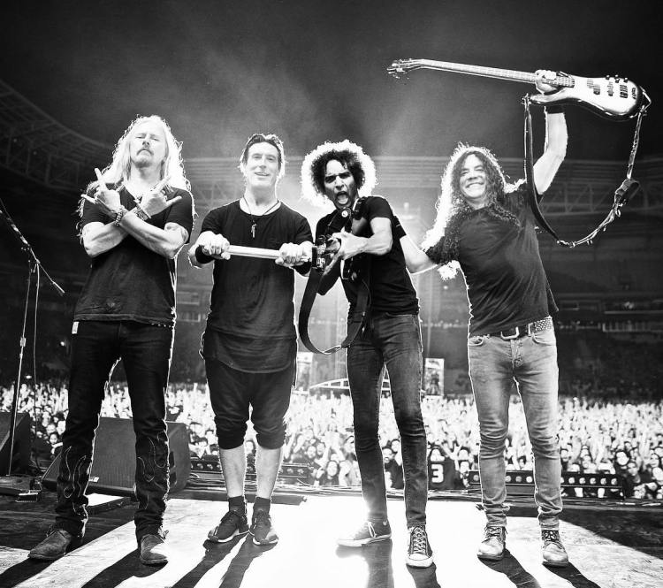 Current Alice in Chains band members. (Photo via Alice in Chains promotion)