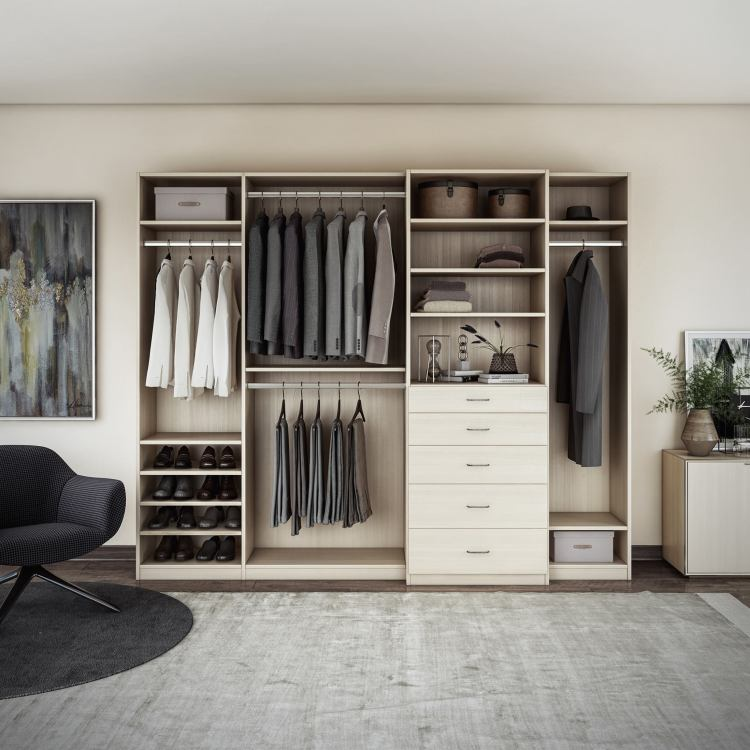 Closets by Design will be at the Birmingham Home Show Feb. 15-17. Their Classic Collection looks so restful.