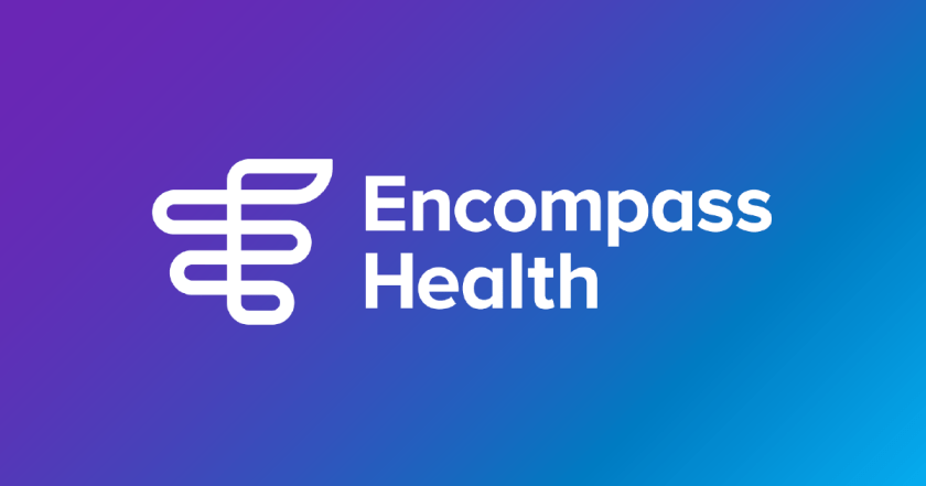 New Encompass Health logo.