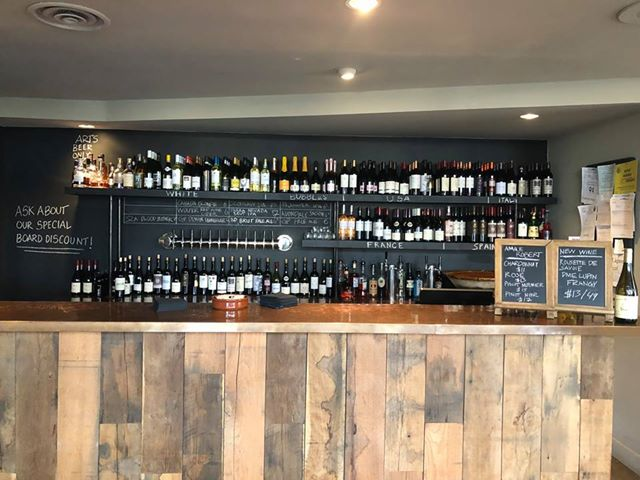 Freddy's Wine Bar makes it easy for you to choose what you're in the mood for with their top notch visual organizing chalkboard. Thanks for making it easy on us, Freddy's! (Photo submitted)