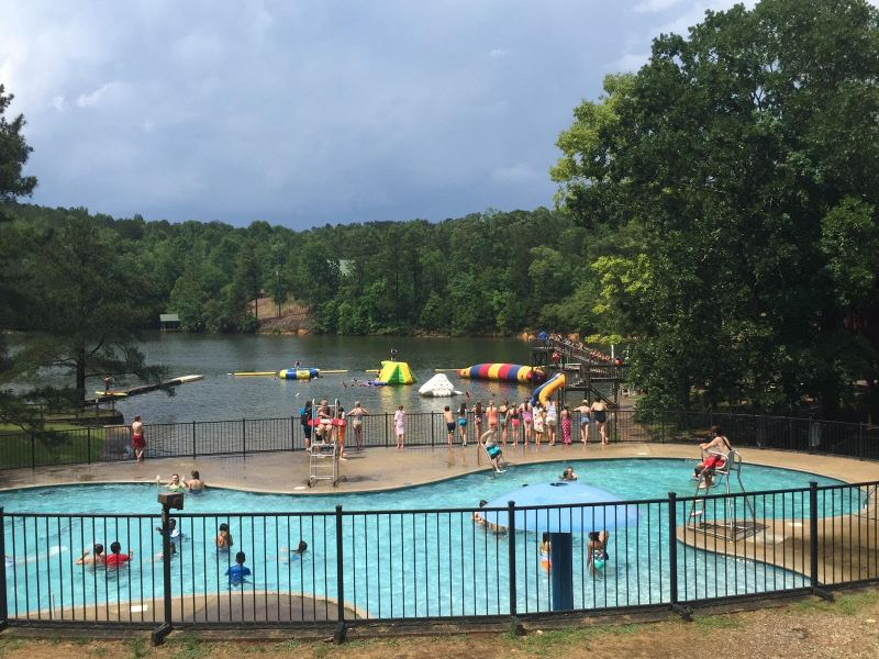 YMCA Camp Cosby is nestled on the shores of Logan Martin.
