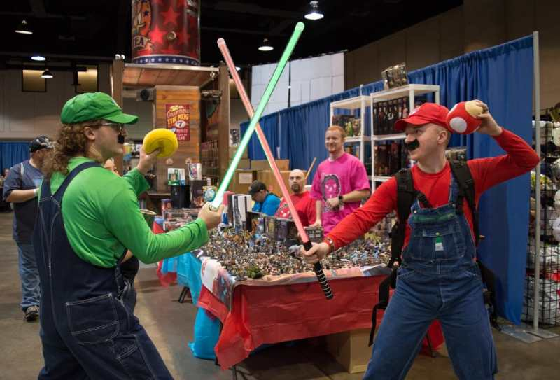 Alabama Comic Con is another costume event in Birmingham each July.