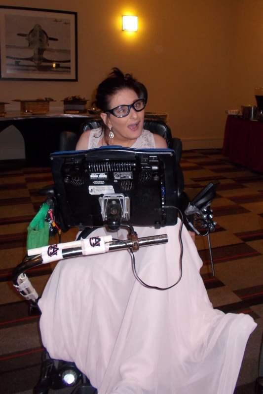 Belinda Dorough competing at Ms.Wheelchair Alabama America 2019