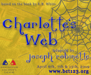 Birmingham Children's Theatre Production of Charlotte's Web