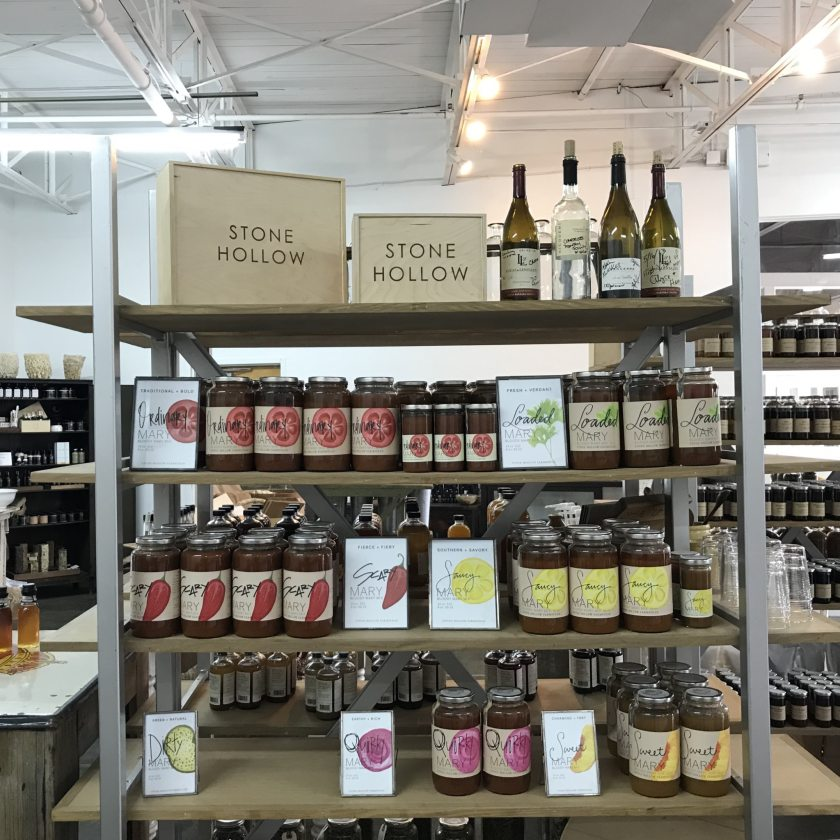 Birmingham, Alabama, FarmStand by Stone Hollow Farmstead, Pepper Place, pasta sauce
