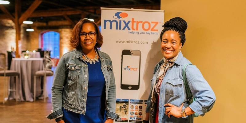 Kerry Shrader and Ashlee Ammons of Mixtroz are headed to Atlanta for an International Women's Day event at Google.