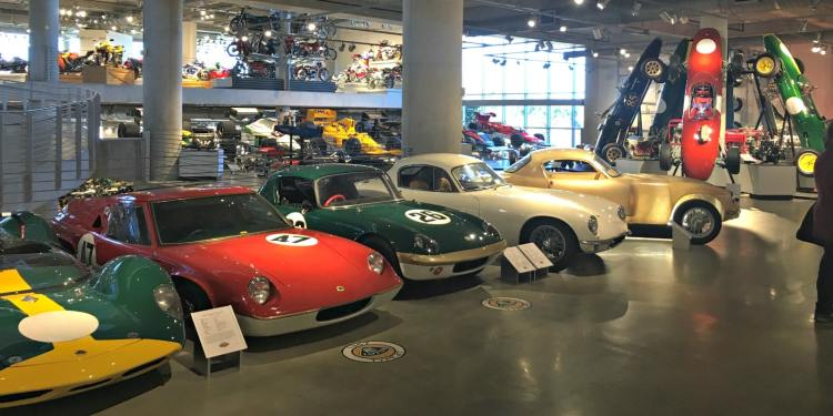 Barber Motorsports Vintage Museum is in the Cahaba community of Birmingham.