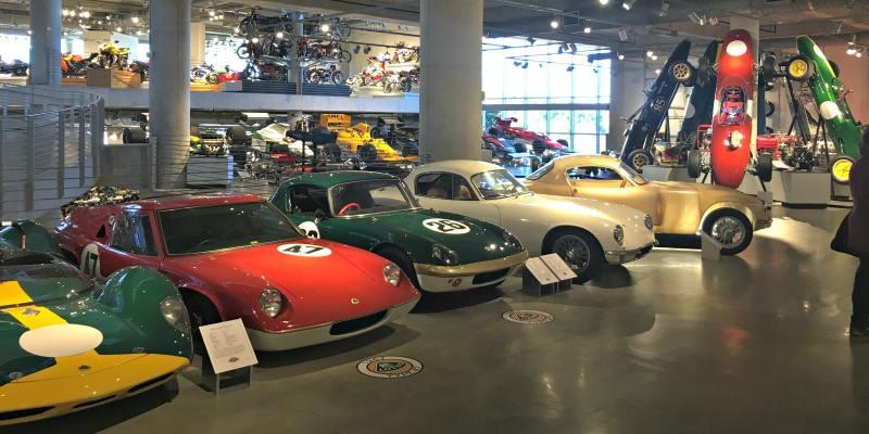 Barber Motorsports Vintage Museum is in the Cahaba community of Birmingham.