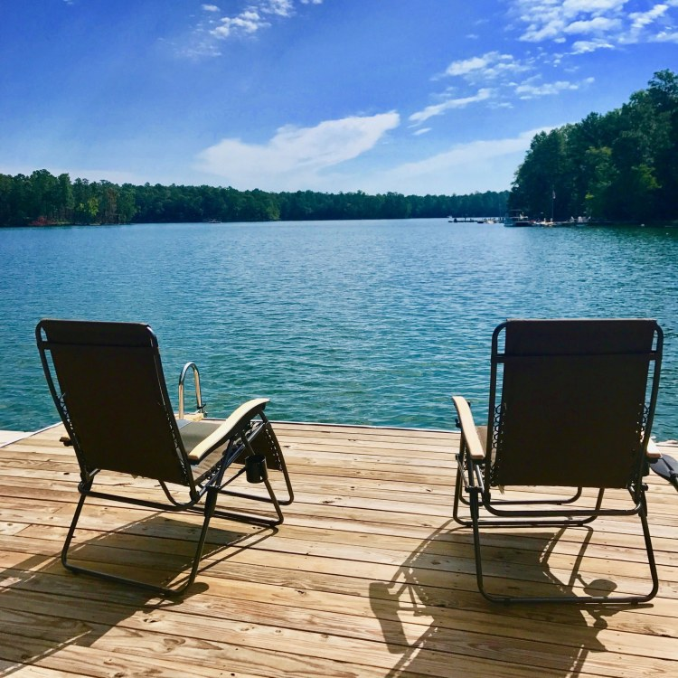 Do you plan to be lakeside for Spring Break? Photo by Christine Hull