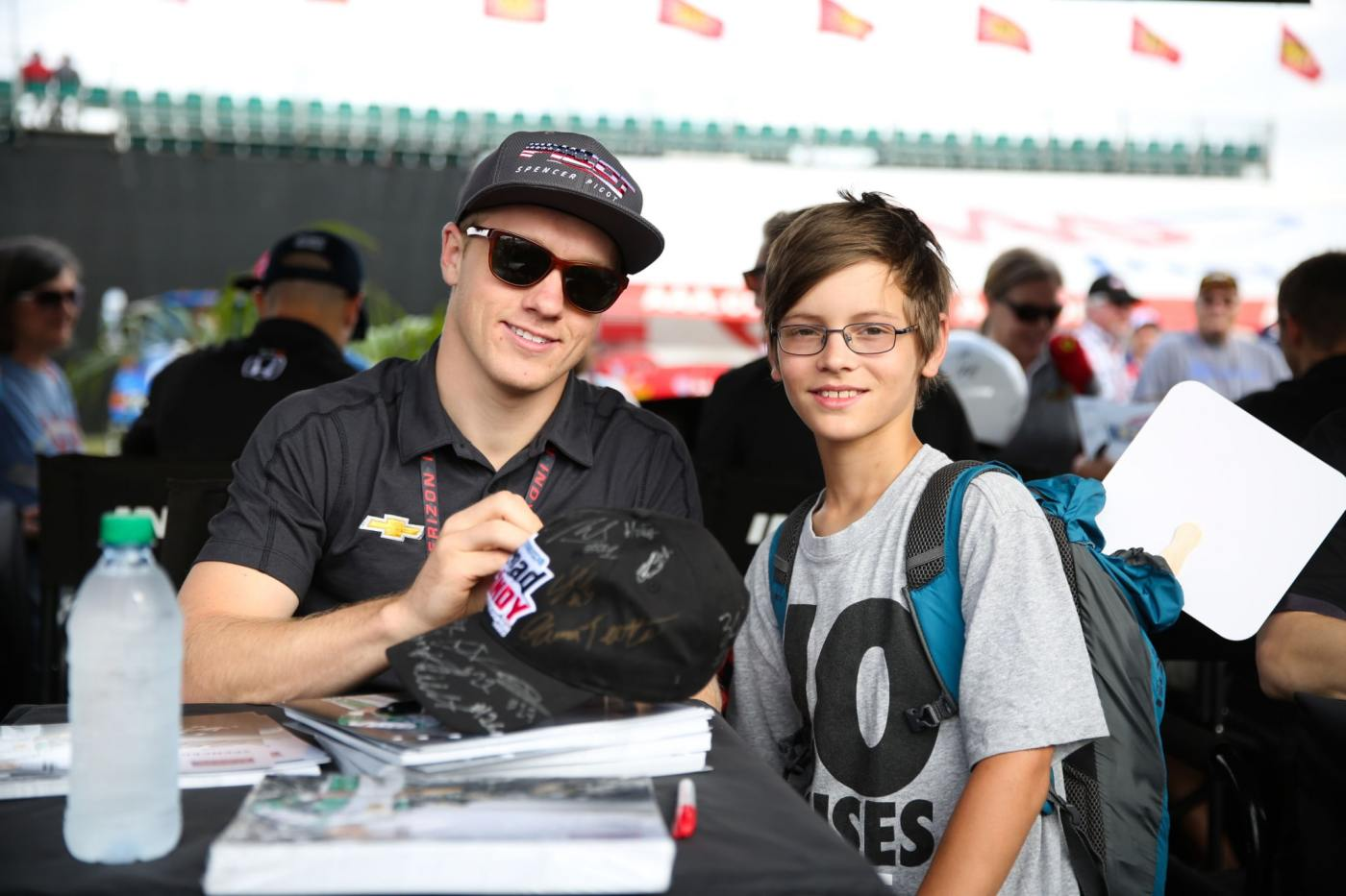 There will be autograph sessions with racers at certain times throughout the weekend at the Surgere Fan Zone. (Photo submitted)