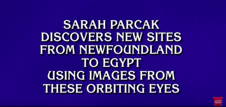 UAB Space Archaeologist Sarah Paracak was a $400 answer on Jeopardy! last night