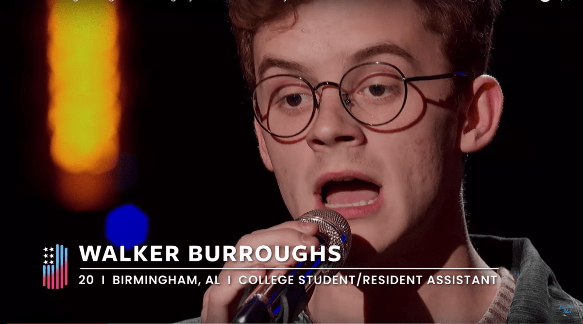 Birmingham's Walker Burroughs advances to top 20 on American Idol