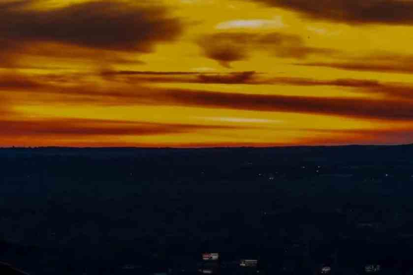 Birmingham, Alabama, sunset