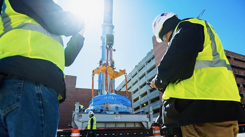 Emma, UAB's new 90-ton cancer-fighting cyclotron, is the coolest thing since sliced bread