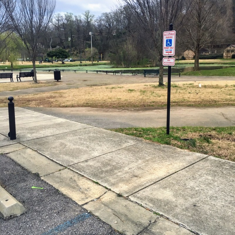 Wheelchair accessible parks in Birmingham