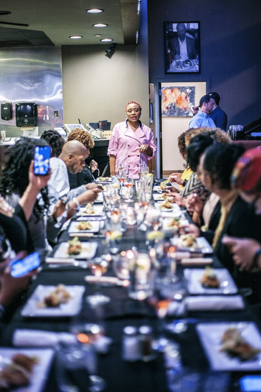 Eryka Perry at a Not Just Catering event. Photo submitted