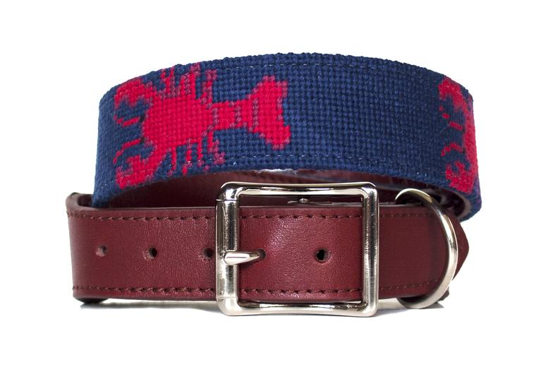 Birmingham, The Asher Riley Project, needlepoint, Etsy, dogs, pets, animals, collars