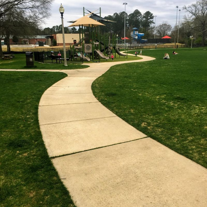 Homewood's Patriot Park is another example of a wheelchair accessible park.