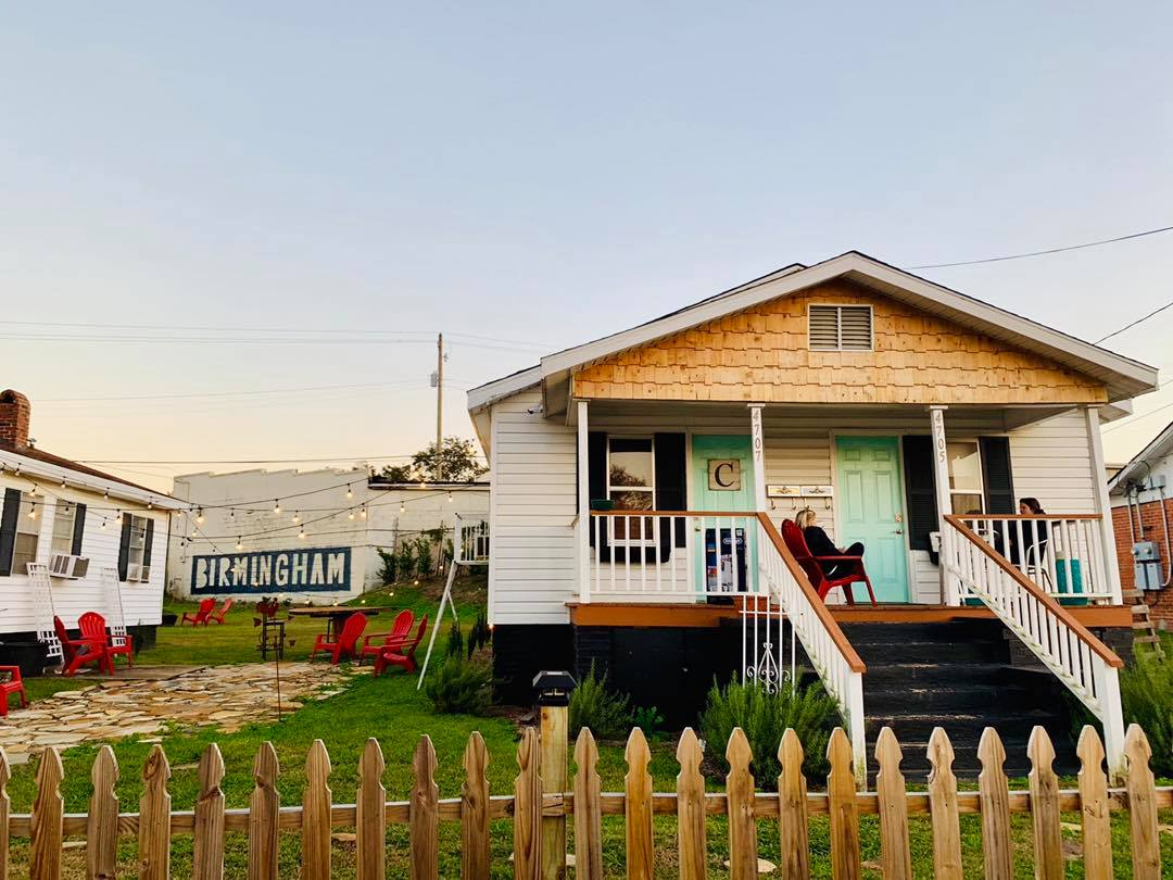 How about a little staycation right here in Birmingham? These Avondale duplexes available on Airbnb are fabulous! Photo submitted