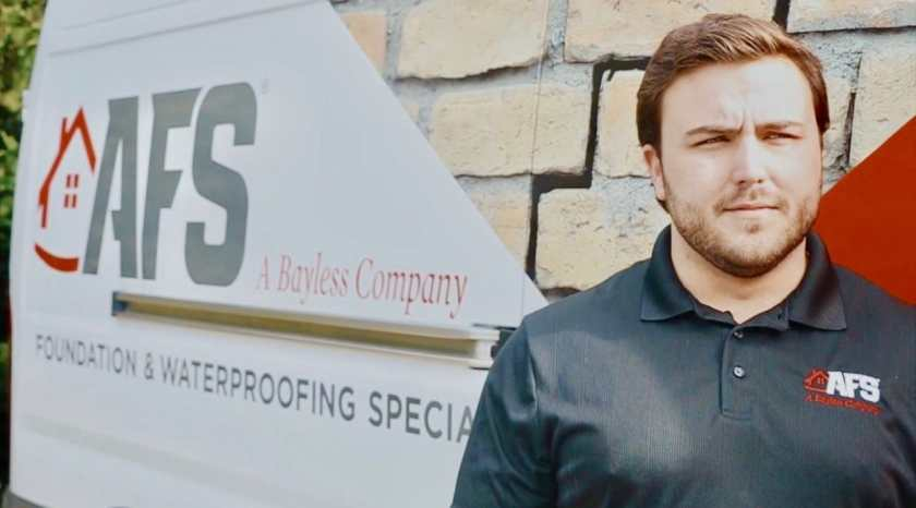 We spoke with Phillip Neal, Realtor Support at AFS- A Bayless Company about how to protect property in your basement given the potential flooding risks in the coming months. (Photo via AFS, A Bayless Company)