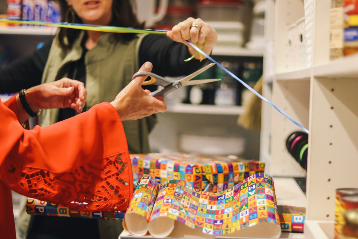 Behind the scenes at Birmingham's Closets by Design, plus an amazing wrapping station that you need now