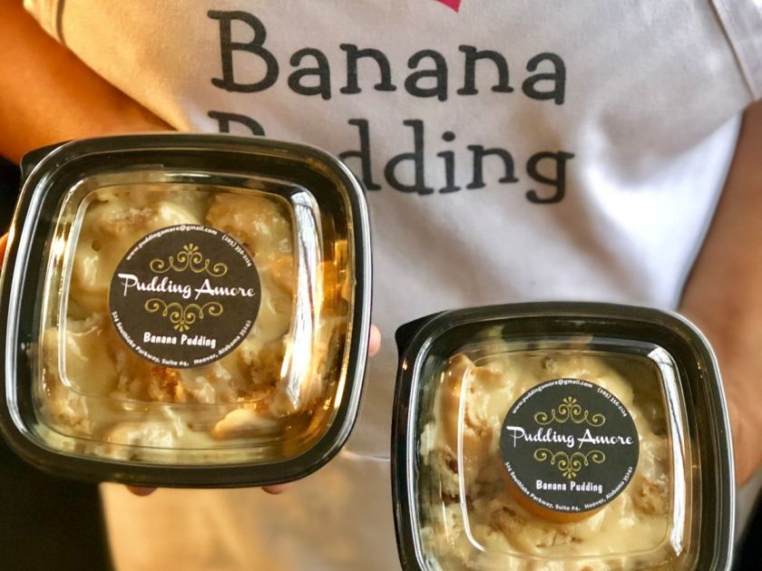 Pudding Amore Banana Pudding at Market at Pepper Place 2019 in Birmingham, Alabama