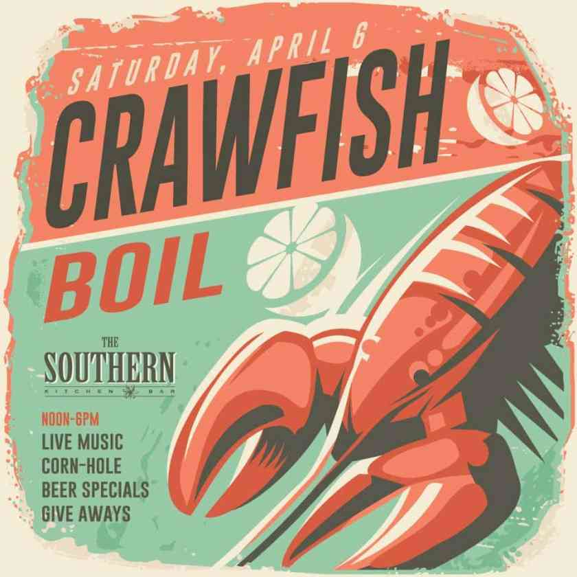Birmingham, Alabama, crawfish boil, The Southern Kitchen & Bar