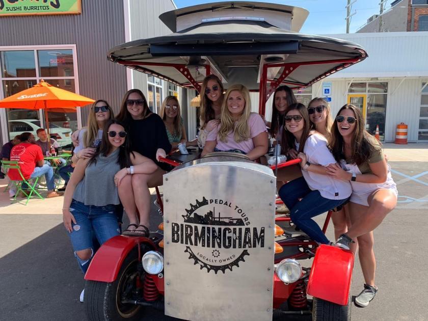 Birmingham, Birmingham Pedal Tours, H2 Real Estate, Downtown Loft Tours