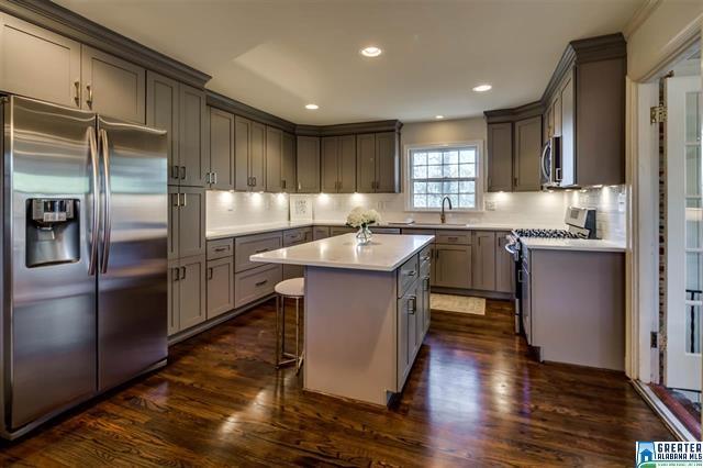Birmingham, Alabama, Bluff Park, home makeover, house renovation, after photo, kitchen