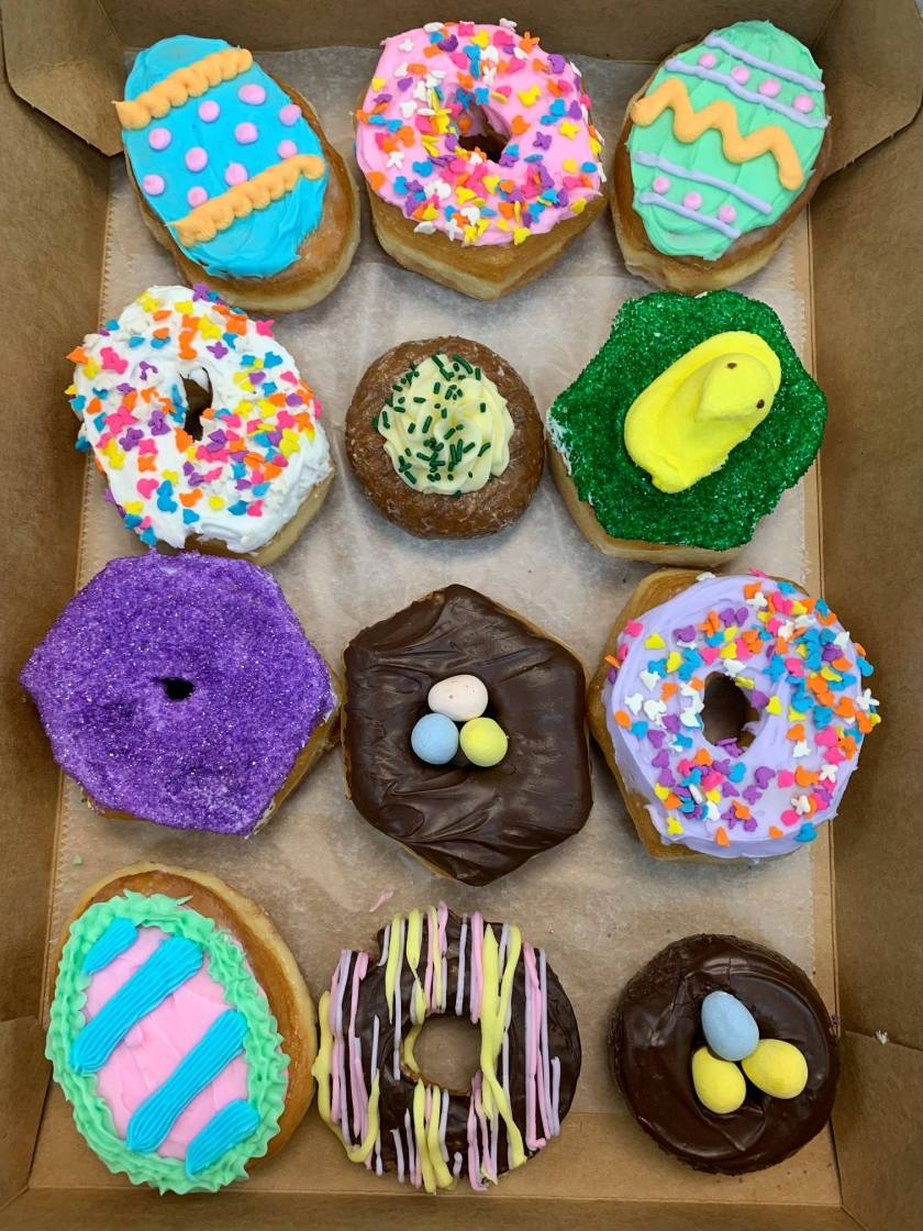 Birmingham, The Heavenly Donut Co, Easter, donuts