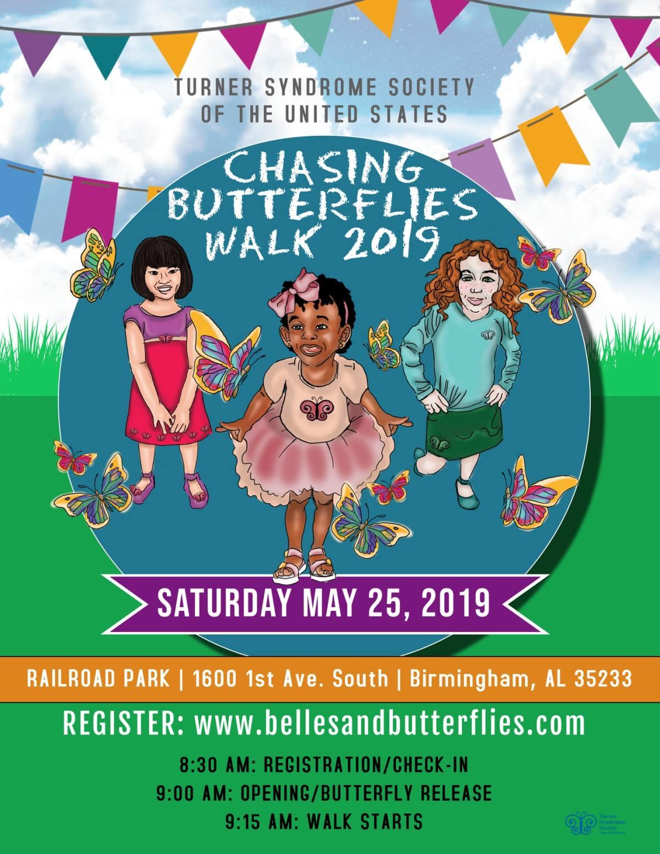 Chasing Butterflies Walk | Turner Syndrome Awareness