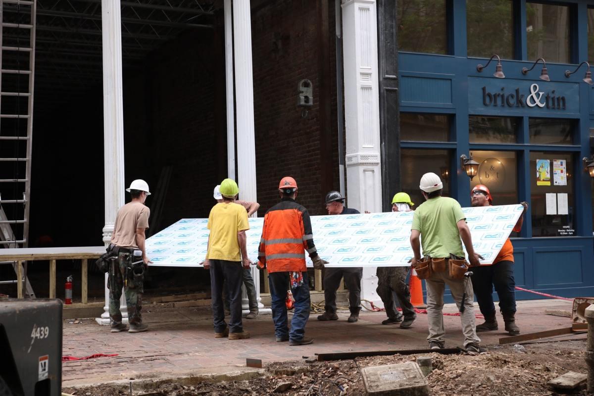 Birmingham's Iron Age building gets giant windows in latest reno update