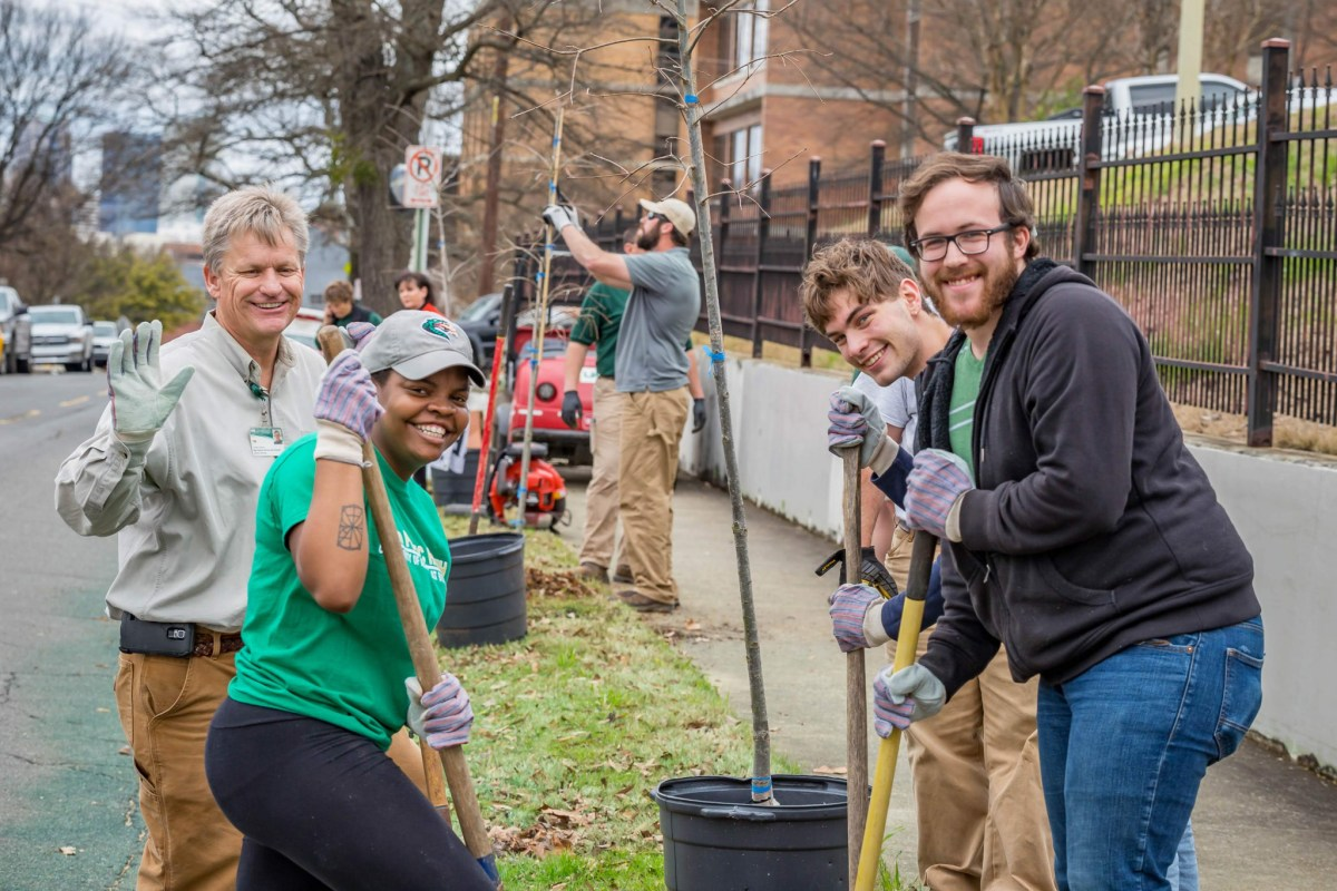 UAB is planting an environmentally conscious future. Learn how the campus's more than 4,000 trees are improving Birmingham