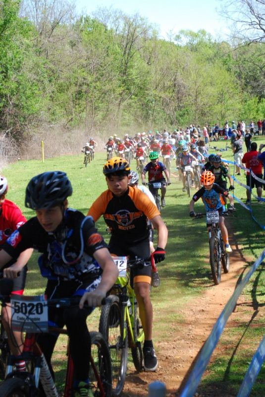 You can still be part of youth mountain biking in Birmingham if you never race.