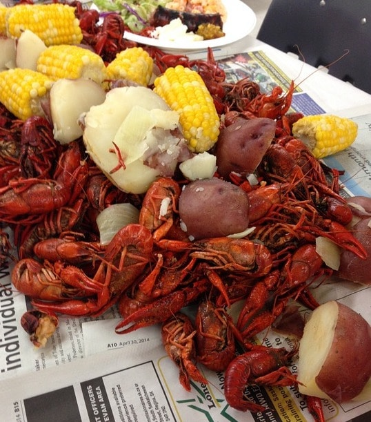 Birmingham, crawfish