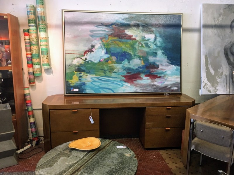 Someone will buy this mid-century modern credenza and turn it into an entertainment console.