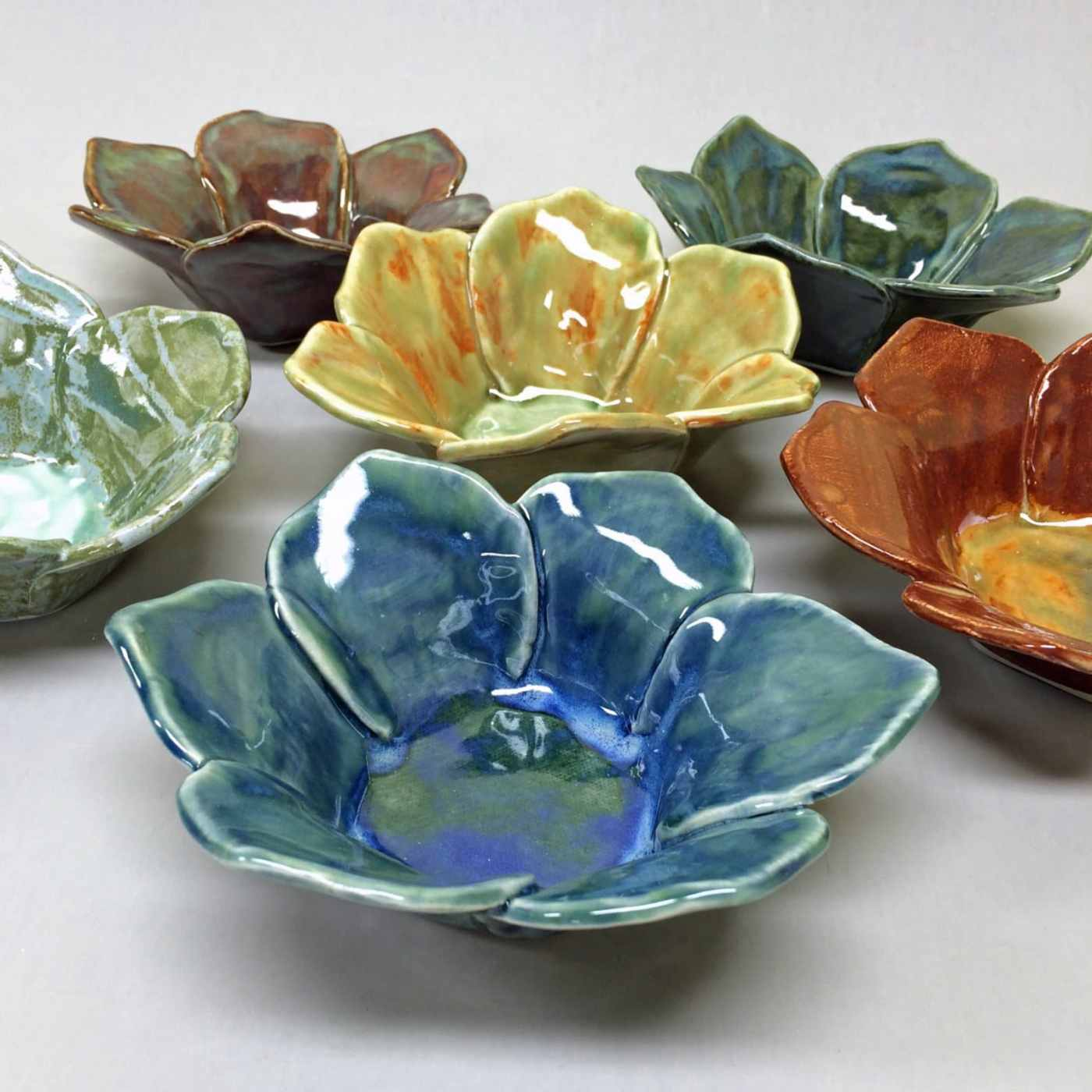 Birmingham, Etsy, LindseyKellyPottery, bowls, pottery, ceramics, ceramic bowls, flowers, Mother's Day, gifts