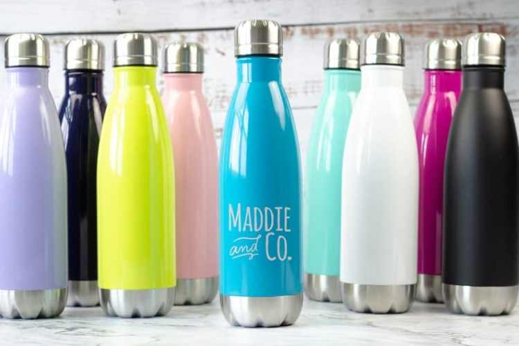 Birmingham, Etsy, Maddie and Co Gifts, gifts, Mother's Day, water bottles, reusable