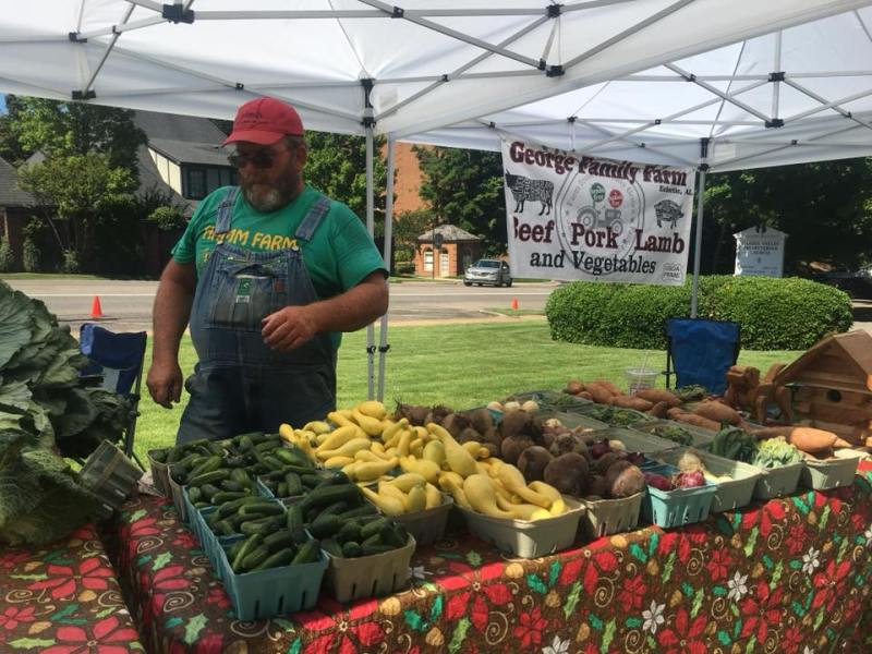 The Farmers Market at Shades Valley Presbyterian takes place on Wednesdays from 3-6 from May 22-August 14, 2019.