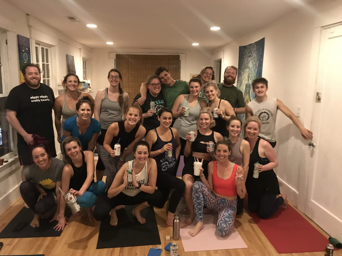 Beer yoga in Birmingham: it's a thing