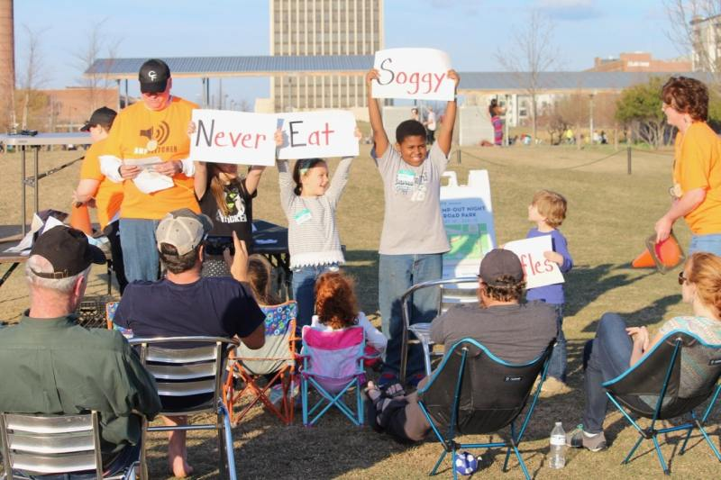 Family Camp-Out at Railroad Park