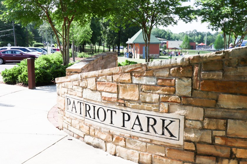 Patriot Park in West Homewood. (Photo by Christine Hull for Bham Now)