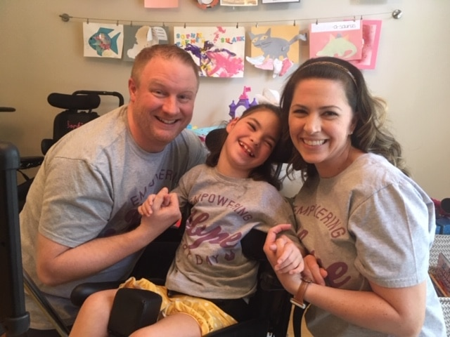 See how a t-shirt can make a difference in Birmingham with families like the Paynes.  Celebrate United Ability Day on May 17.