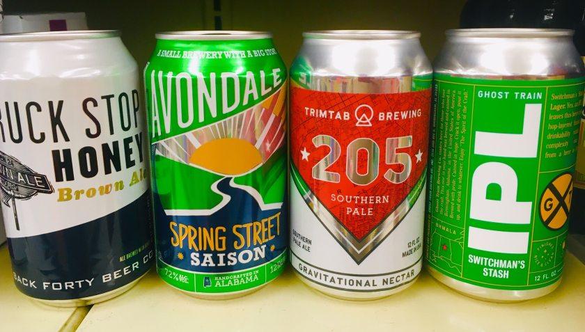 Local Birmingham Beer Cans